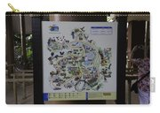 Map Of The Jurong Bird Park Along With A Tourist Carry-all Pouch