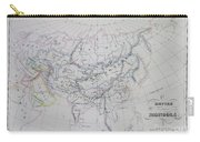 Map Of The Mongol Empire In Asia And Europe Carry-all Pouch