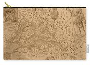 Map Of Virginia 1698 Carry-all Pouch