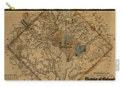 Map Of Washington 1862 Carry-all Pouch
