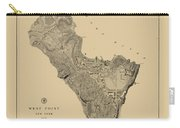 Map Of West Point 1883 Carry-all Pouch
