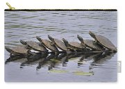 Map Turtles Carry-all Pouch