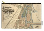 Map: Worlds Fair, 1893 Carry-all Pouch