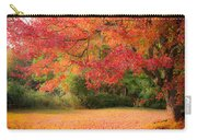 Maple In Red And Orange Carry-all Pouch
