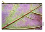 Maple Leaf Macro Carry-all Pouch
