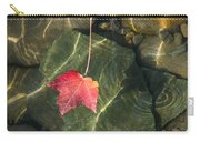 Maple Leaf On Water Carry-all Pouch