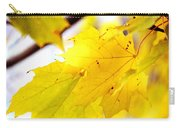 Maple Leaves At Autumn Glory 1 Carry-all Pouch