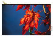 Maple Leaves Shadows Carry-all Pouch