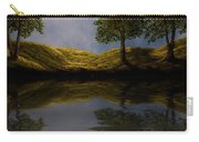 Maples In Moonlight Reflections Carry-all Pouch