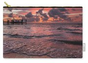 Marathon Key Sunrise Panoramic Carry-all Pouch by Adam Romanowicz