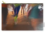 Marathon Running Abstract 1 Carry-all Pouch