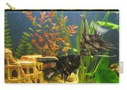 Marble Angelfish Kisses Carry-all Pouch