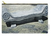 Abstract Marble Bench Carry-all Pouch