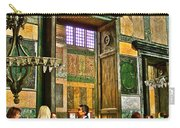 Marble Of Many Colors In Saint Sophia's In Istanbul-turkey Carry-all Pouch
