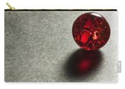 Marble Red Crackle 1 Carry-all Pouch