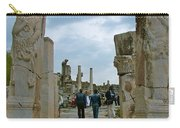 Marble Way From Theater To Central Ephesus-turkey Carry-all Pouch