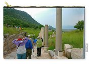 Marble Way In Ephesus-turkey Carry-all Pouch
