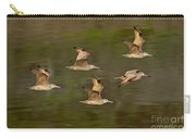 Marbled Godwit Flock Flying Carry-all Pouch