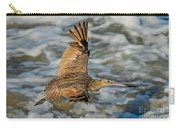 Marbled Godwit Flying Over Surf Carry-all Pouch