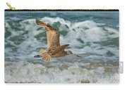 Marbled Godwit Over Surf Carry-all Pouch