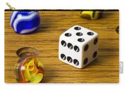 Marbles Board Game 1 C Carry-all Pouch