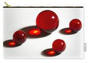 Marbles Red 2 Carry-all Pouch