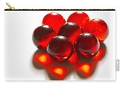 Marbles Red 3 C Carry-all Pouch
