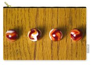 Marbles Red Orange Swirl 1 Carry-all Pouch