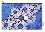 March Of The Daisies Carry-all Pouch