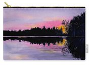 March Sunset In Maine Carry-all Pouch