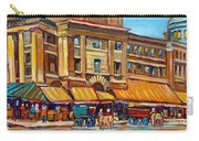 Marche Bonsecours Old Montreal Carry-all Pouch