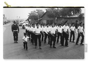 Marchers Number 1 100th Anniversary Parade Nogales Arizona 1980 Black And White  Carry-all Pouch
