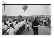 Marchers Number 2 100th Anniversary Parade Nogales Arizona 1980 Black And White  Carry-all Pouch