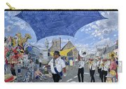 Marching Band, Brecon Jazz Festival, 1994 Oil On Board Carry-all Pouch