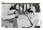 Marciano In A Movie Jail Set Carry-all Pouch by Underwood Archives