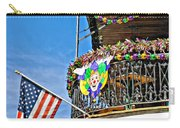 Mardi Gras Balcony Carry-all Pouch