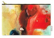 Mardi Gras - Colorful Abstract Art By Sharon Cummings Carry-all Pouch
