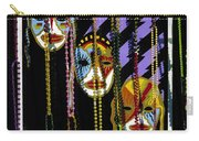 Mardi Gras Poster New Orleans Carry-all Pouch