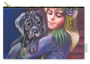 Mardi Gras Puppy Carry-all Pouch
