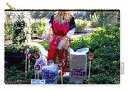 Mardi Gras Scarecrow At Bellingrath Gardens Carry-all Pouch