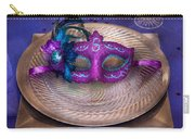 Mardi Gras Theme - Surprise Guest Carry-all Pouch by Mike Savad