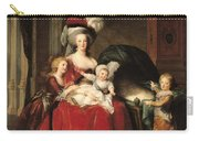 Marie Antoinette And Her Children Carry-all Pouch by Elisabeth Louise Vigee-Lebrun