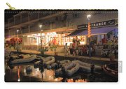 Marigot Marina At Night Carry-all Pouch