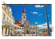 Marija Bistrica Marianic Sanctuary In Croatia Carry-all Pouch by Brch Photography