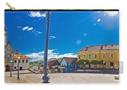 Marija Bistrica Square Colorful Panorama Carry-all Pouch