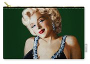 Marilyn 126 Green Carry-all Pouch