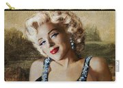 Marilyn 126 Mona Lisa Carry-all Pouch