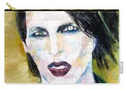 Marilyn Manson Oil Portrait Carry-all Pouch