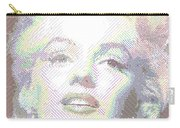 Marilyn Monroe 01 - Parallel Hatching Carry-all Pouch