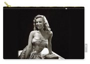 Marilyn Monroe Photo By J.r. Eyerman 1947-2014 Carry-all Pouch